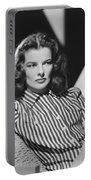 Actress Katharine Hepburn Portable Battery Charger