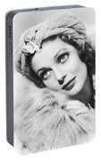 Actress Loretta Young Portable Battery Charger