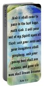 Acts 2 Verse 17 Portable Battery Charger