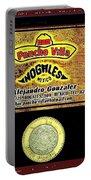 Ad  Pancho Villa Bar  Nogales Sonora Mexico 2013  Portable Battery Charger