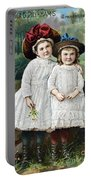 Ad: Patent Medicine, 1889 Portable Battery Charger