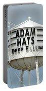 Adam Hats In Deep Ellum Portable Battery Charger