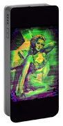 Adele Mara - 1940s Pin Up Portable Battery Charger