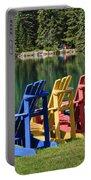 Adirondacks At Jasper Lodge Portable Battery Charger