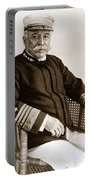 Admiral Of The Navy George Dewey Seen In 1899 On The Uss Olympia Portable Battery Charger