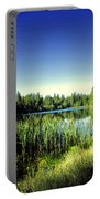 Admiring The Beauty At Woodbridge Lake Portable Battery Charger