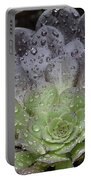 Adorned By Raindrops Portable Battery Charger