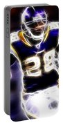 Adrian Peterson 01 - Football - Fantasy Portable Battery Charger