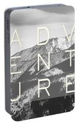Adventure Typography Portable Battery Charger