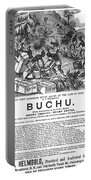 Advertisement: Buchu, 1871 Portable Battery Charger