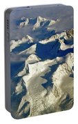 Aerial Ice Fields Portable Battery Charger