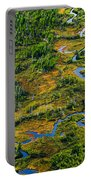 Aerial Of A Wetland, Over Northern Portable Battery Charger