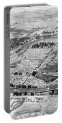 Aerial Of Indy 500 Portable Battery Charger