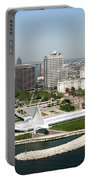Aerial Of Milwaukee Skyline Portable Battery Charger