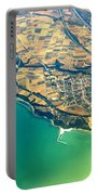 Aerial Photography - Italy Coast Portable Battery Charger