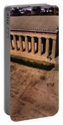 Aerial Photography Of The Parthenon Portable Battery Charger