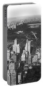 Aerial View Of Central Park Portable Battery Charger