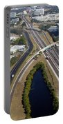Aerial View Of City Of Tampa Portable Battery Charger