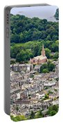 Aerial View Of Keswick In The Lake District Cumbria Portable Battery Charger