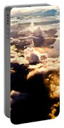 Aerial View Of Pacific Coast Of Bc Canada Portable Battery Charger