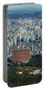 Aerial View Of Seoul South Korea Portable Battery Charger