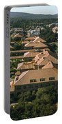Aerial View Of Stanford University Portable Battery Charger