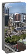 Aerial View Of Sydney City Hall Portable Battery Charger