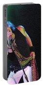 Aerosmith - Steven Tyler -dsc00139-1 Portable Battery Charger
