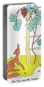 Aesop: Fox And Grapes Portable Battery Charger