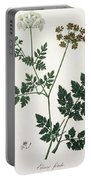 Aethusa Cynapium From Phytographie Portable Battery Charger
