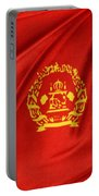 Afghanistan Flag Portable Battery Charger by Les Cunliffe