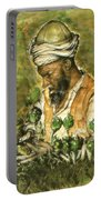 Afghani Harvest - Watercolor Portable Battery Charger