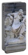 Africa Statue - New York City Portable Battery Charger