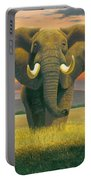 Africa Triptych Variant Portable Battery Charger