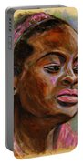 African American 3 Portable Battery Charger