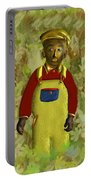African American Kid Art Portable Battery Charger