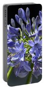 African Blue Lily Portable Battery Charger