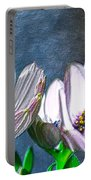 African Daisy Detail Portable Battery Charger