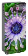 African Daisy For Van Gogh Portable Battery Charger