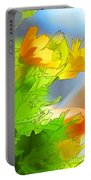 African Daisy I - Digital Paint Portable Battery Charger