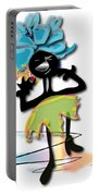 African Dancer 3 Portable Battery Charger