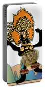 African Dancer 6 Portable Battery Charger