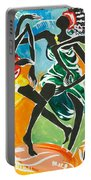 African Dancers No. 3 Portable Battery Charger