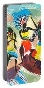 African Dancers No. 4 Portable Battery Charger