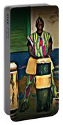 African Drummers Portable Battery Charger
