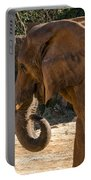 African Elephant Profile Portable Battery Charger