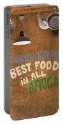 African Food Portable Battery Charger