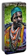 African Look Portable Battery Charger
