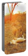 African Mammals Portable Battery Charger