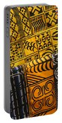 African Prints Portable Battery Charger